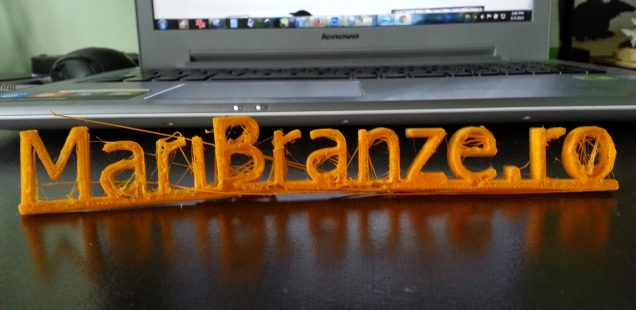 Mari Brânze printate 3D!